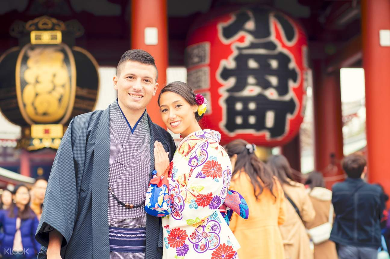 friends in kimono